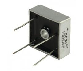 Bridge rectifier square wire