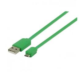 Câble adaptateur USB 2.0 A Mâle - Micro B Mâle 1.00 m