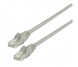 UTP CAT 6 network cable 10.0 m grey