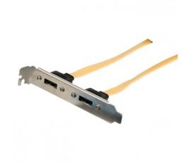 Câble adaptateur d'alimentation interne à connecteur SATA 15 broches mâle vers Molex femelle noir