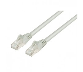 FTP CAT 5e network cable 10.0 m grey