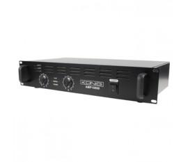 PA amplifier 2x 500 W
