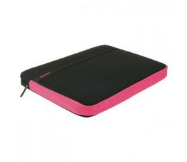 """Housse pour ordinateur portable 17"""" / 18"""" coloris rose vif"""