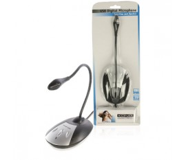 Flexible USB desktop microphone