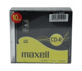 Rewritable CD-R 700 MB Slim Case 10 pcs