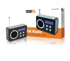 Radio portable noire