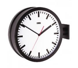 Horloge murale double face 38 cm