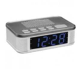 LED radio réveil PLL bleu