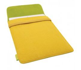 Envelope sleeve for iPad 2/3/4 yellow