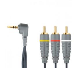 Câble Vidéo Stéréo 3,5 mm 2.0 m