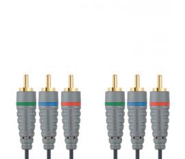 Câble Vidéo Composant 5.0 m