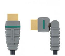 Câble Rotatif HDMI® haut vitesse avec Ethernet 1.0 m