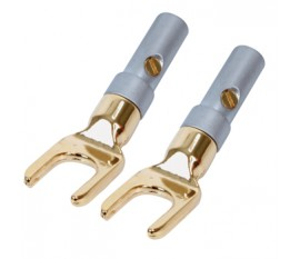 High quality spade plugs (2x)