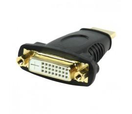 Adapter HDMI male - DVI female