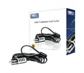 Cable Combination Lock Curled