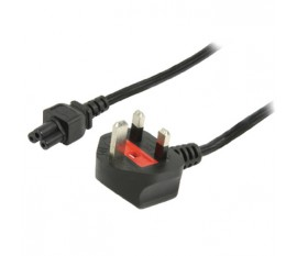Power cable UK plug - IEC320 C5 5.00 m