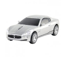 Maserati Granturismo wired car mouse silver