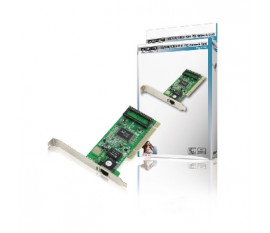 PCI network card 10 / 100 / 1000 Mbps