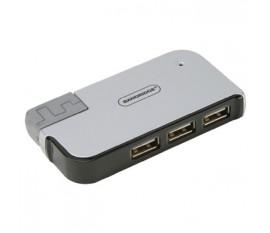 Concentrateur USB2.0 4 Ports pour Ordinateur Portable