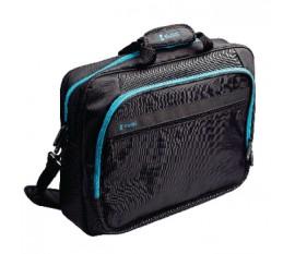 """Sacoche pour ordinateur portable 17"""" / 18"""" coloris bleu glacier"""