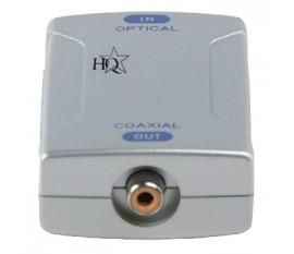 Convertisseur audio numérique Toslink vers RCA