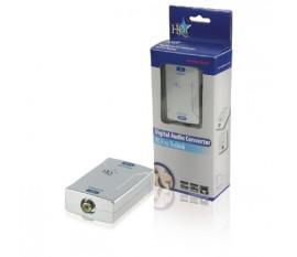 Convertisseur audio numérique RCA vers Toslink