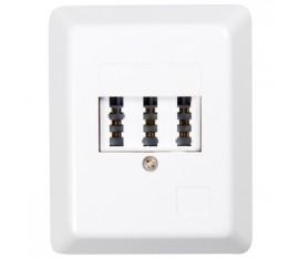 3-Way TAE-NFF Wall Socket