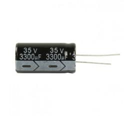 Ra.electr. capac..3300uf 35 V 105°