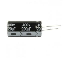 Ra.electr. capac. 220uf 400 V 105°