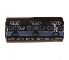 Ra.electr. capac. 1000uf 63 V 105°