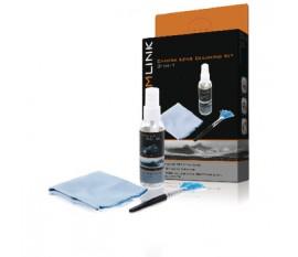 Kit de nettoyage d'objectif de caméra 3 en 1