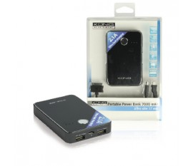 Power bank USB portable 7000 mAh