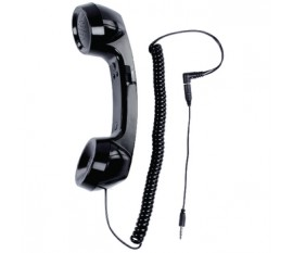 TELEPHONE NOIR RETRO BASIC XL