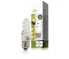 Mini energy saving lamp spiral E27 9 W