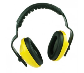 Basic protection ear muffs with adjustable headband