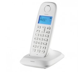 Wireless dect-phone white