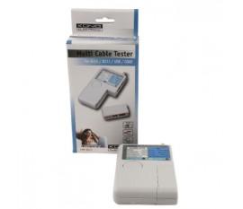 Cable tester RJ45/USB/COAX