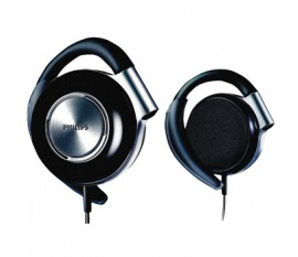 Ear-clip headphone black