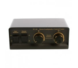 2-way stereo loudspeaker switch