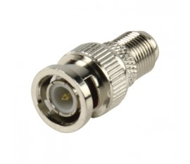 BNC plug - female contra adapter high quality