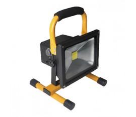Projecteur LED COB mobile 20W, 1400lm Fiche européenne