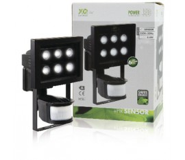 6 LED outdoor lamp with detection sensor