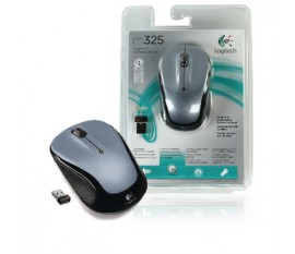 M325 wireless mouse silver