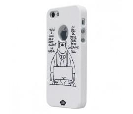 Étui pour iPhone 5S/5 blanc