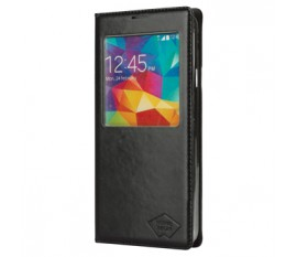 Smartphone case PU leather for Galaxy S5 black