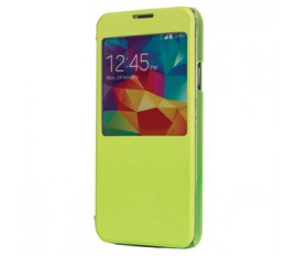 Smartphone case PU leather for Galaxy S5 green