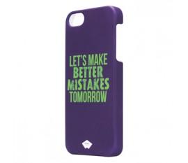 Étui caoutchouté pour iPhone 5S/5 violet
