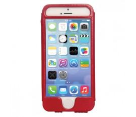 Étui en cuir pour iPhone 5S/5 rouge