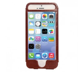 Étui en cuir pour iPhone 5S/5 brun