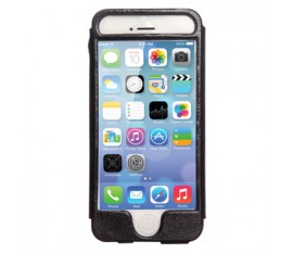 Étui en cuir pour iPhone 5S/5 noir